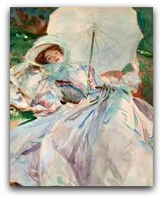 Gli acquerelli di John Singer Sargent...l'incanto di macchie  di colore.