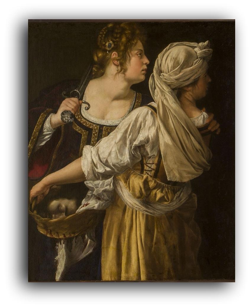 Artemisia Gentileschi, finalmente la  National Gallery apre la mostra  a Londra, rimandata per la Covid19.