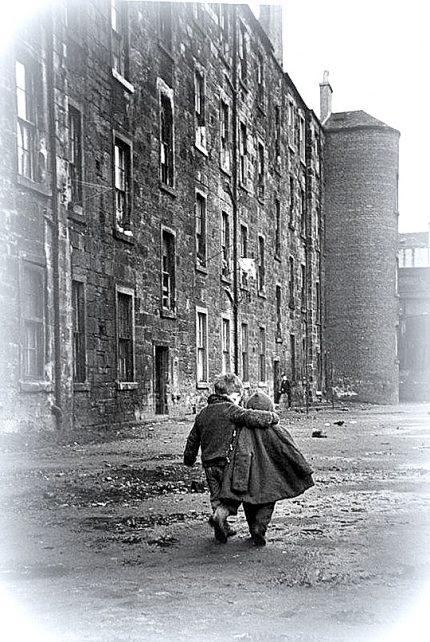 Glasgow.. nella bruma un abbraccio!