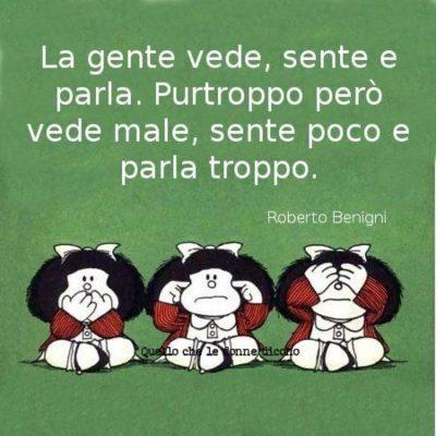 Mafalda ci sarà sempre...