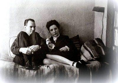 Henry Miller e Anais Nin..